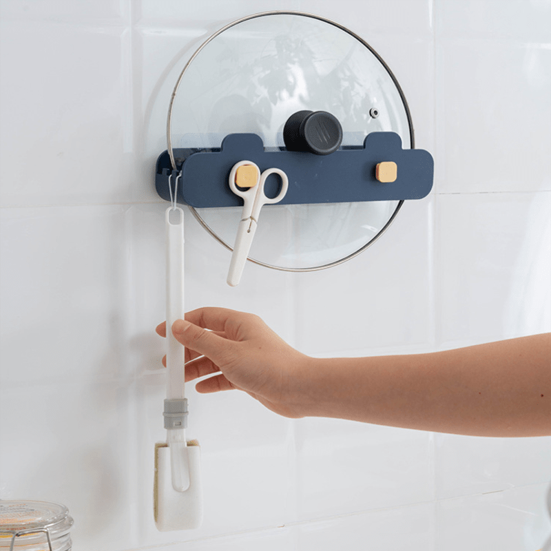 Wall-Mounted Pot Cover Rack