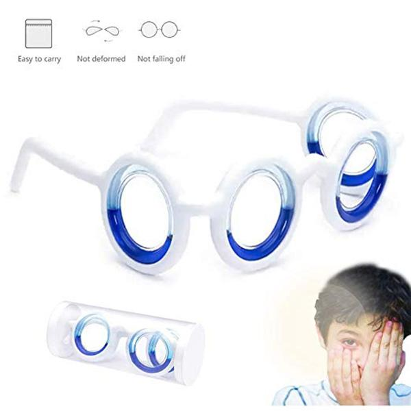 Anti-Move Sickness Glasses
