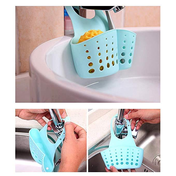 Adjustable Push Button Sink Bag