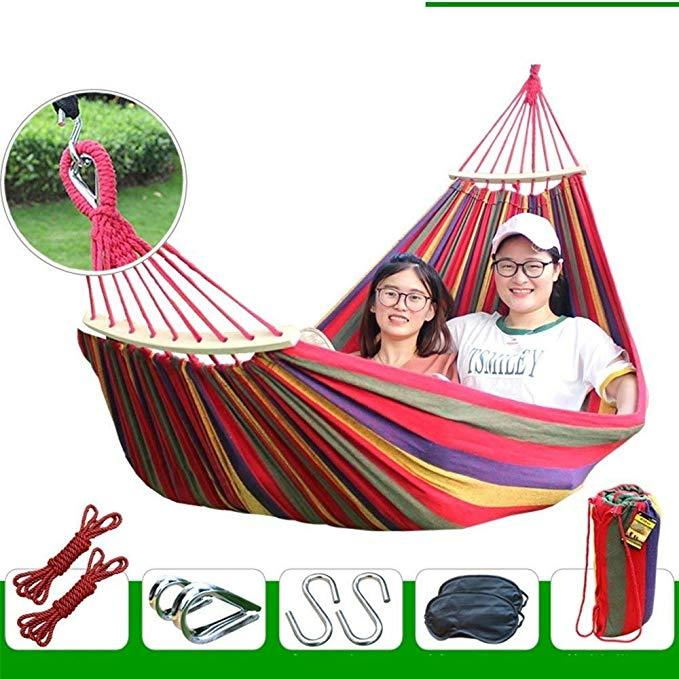 Outdoor Anti-Rollover Hammock