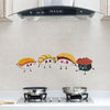 Self-adhesive High Temperature Oil Resistant Stickers(4 Pcs)