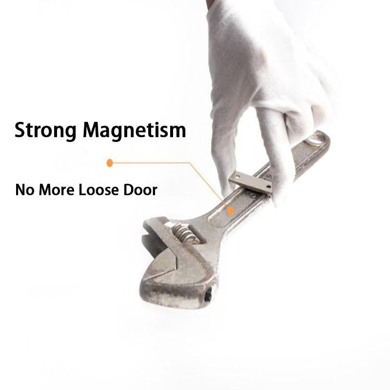 Punch-free Magnetic Door Closer