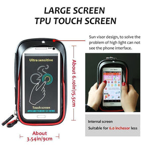 Phone Holder Bag For Bicycle