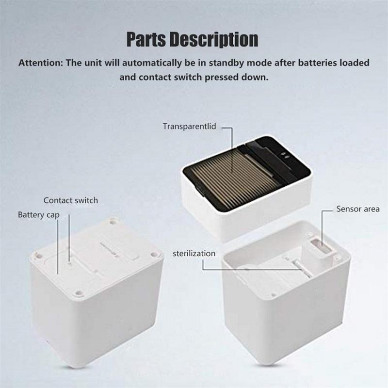 Automatic Smart Sensor Toothpick Holder