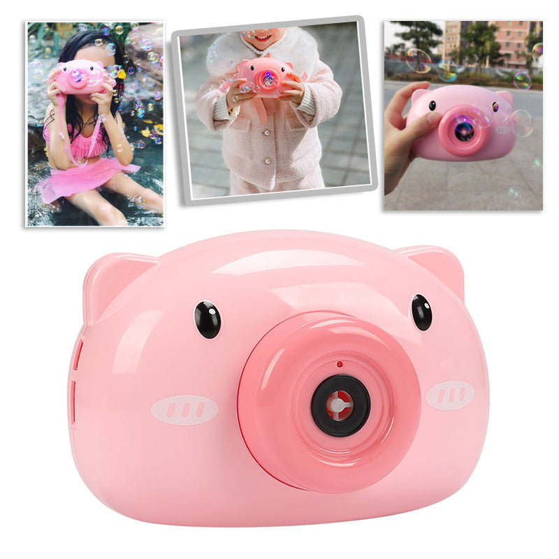 Piggy Electric Bubble Machine