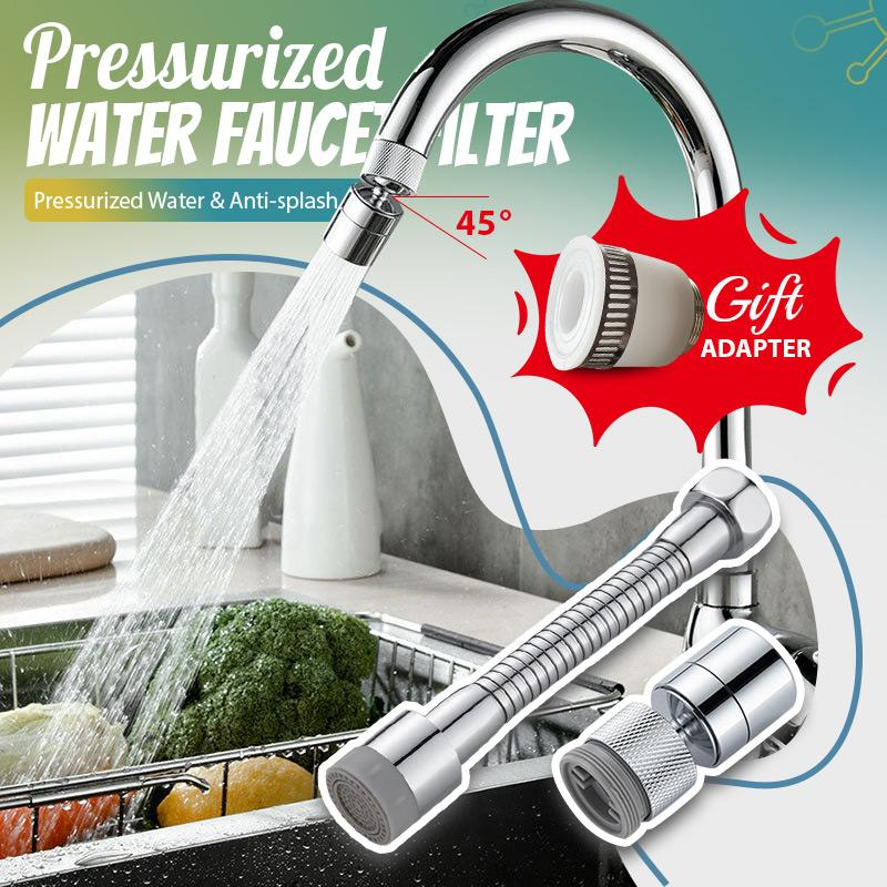 (Christmas Special Offer)Pressurized Water Faucet Filter
