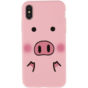 3D Funny Pig IPHONE CASE