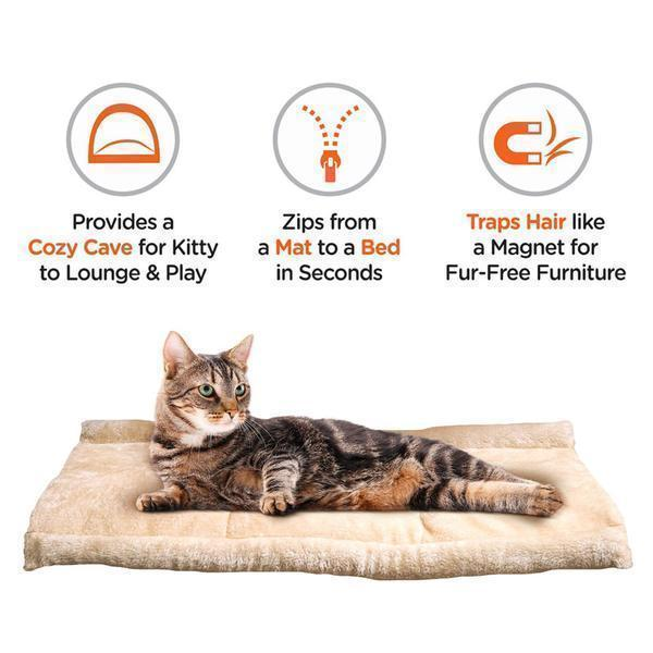 2-in-1 Pet Mat and Bed