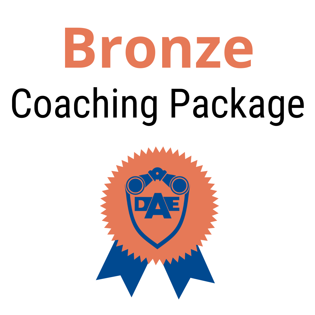 Monthly Coaching Package - Bronze