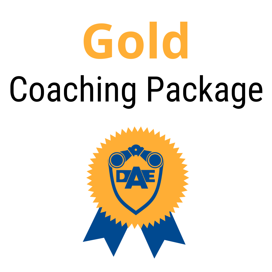 Monthly Coaching Package - Gold