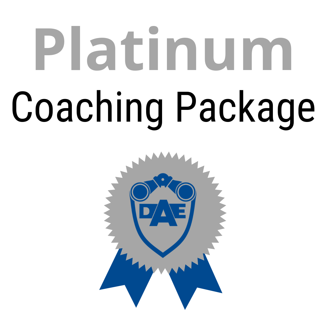Monthly Coaching Package - Platinum
