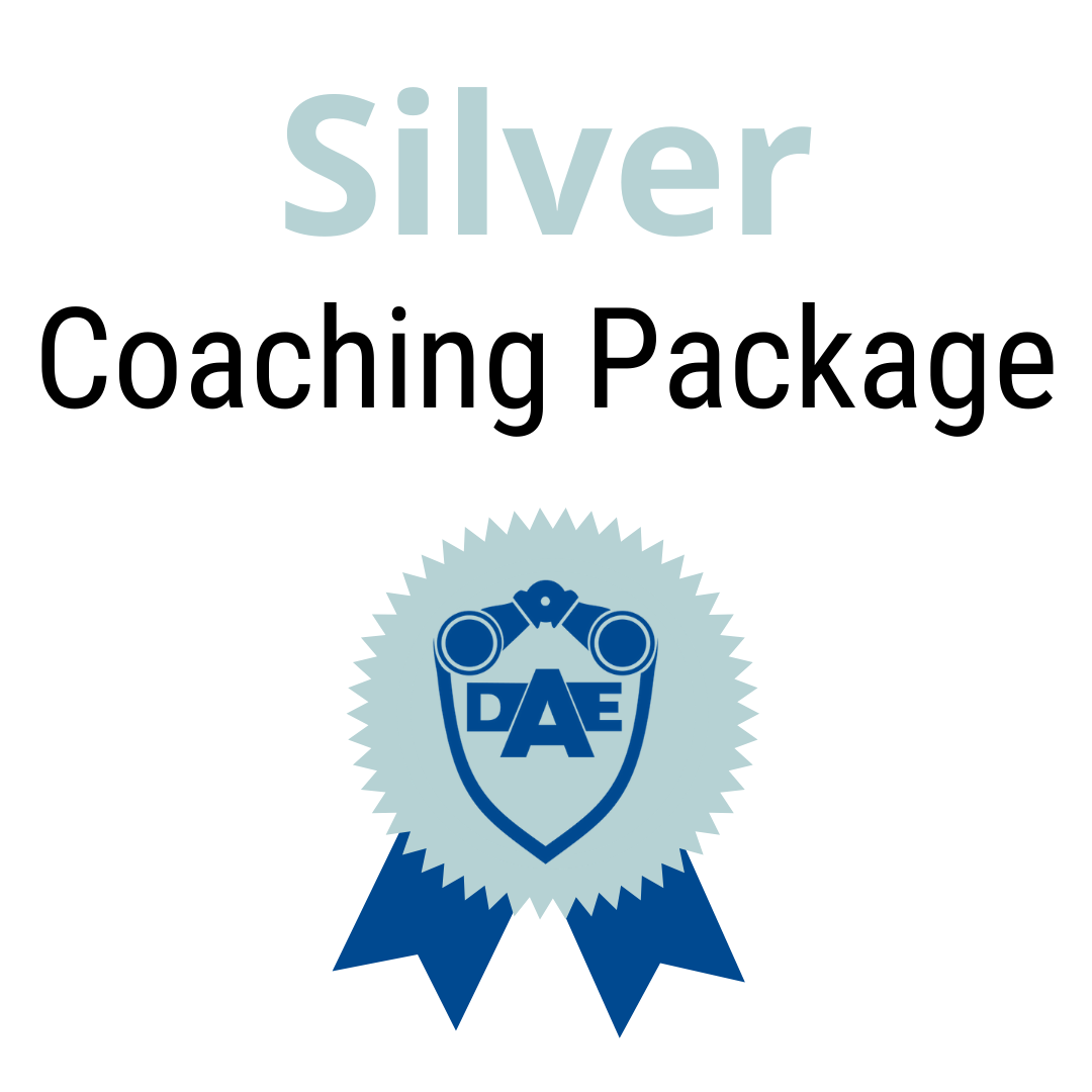 Monthly Coaching Package - Silver