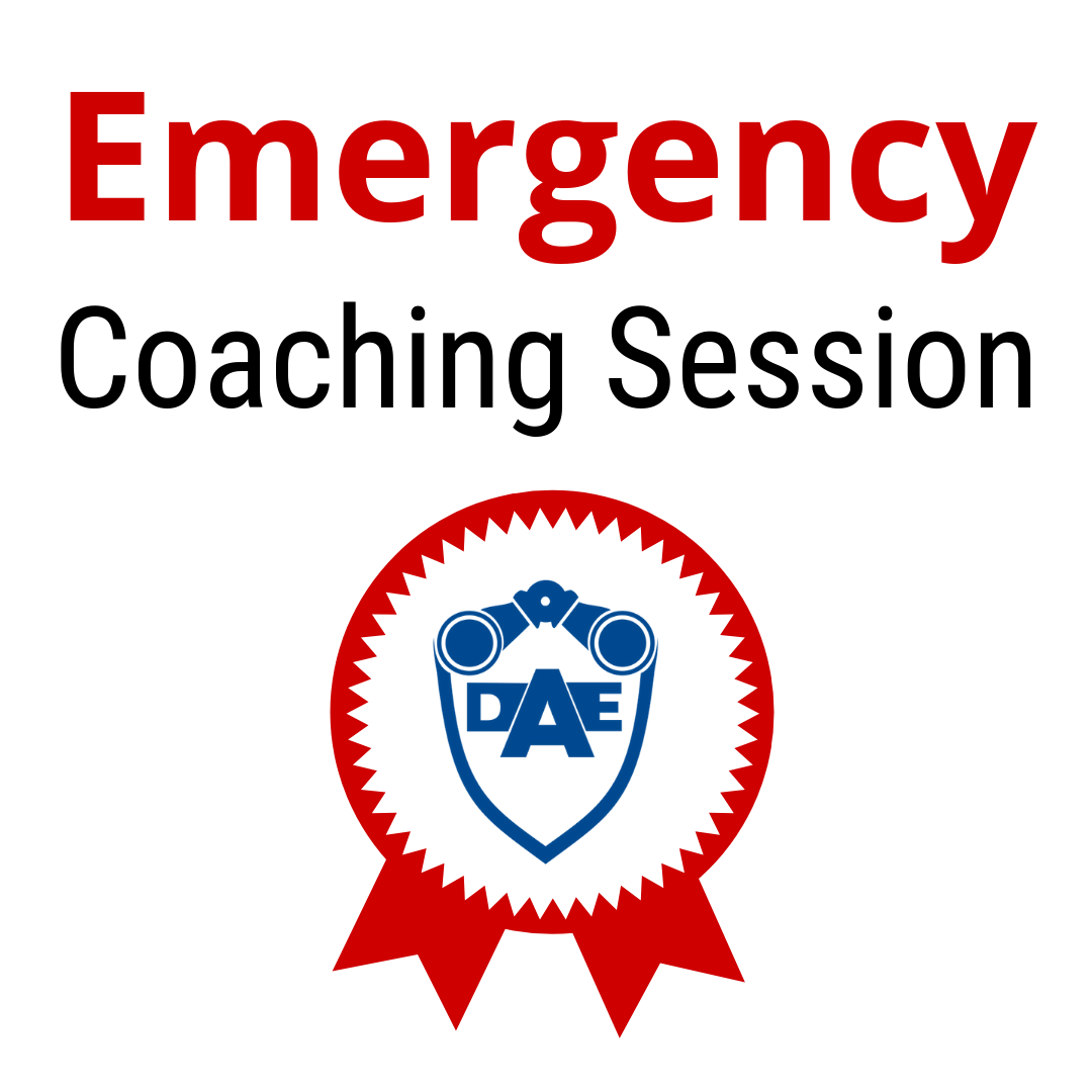 Emergency Coaching Session