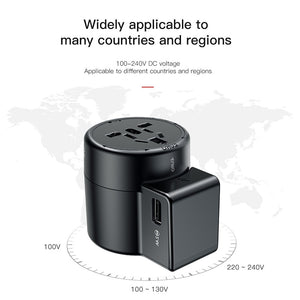 Universal ALL in One USB Charger International Dual USB Wall Charger Power Adapter EU US UK AU - NeobitShop