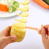 Spiral Slicer Kitchen Vegetable Cutting Models Potato Cutter - NeobitShop