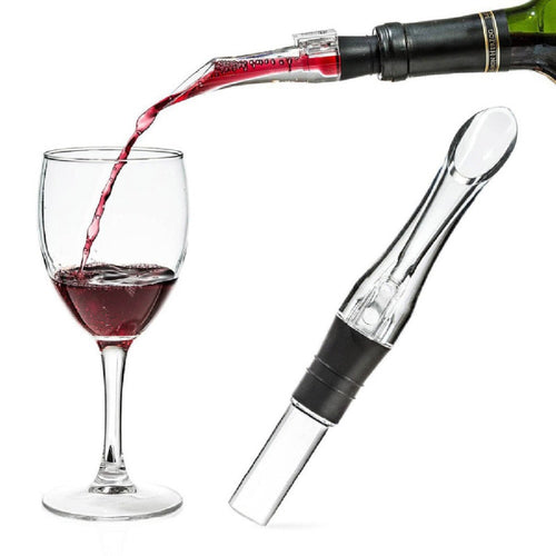 Acrylic Aerating Pourer Decanter Wine Aerator Spout Pourer New Portable - NeobitShop