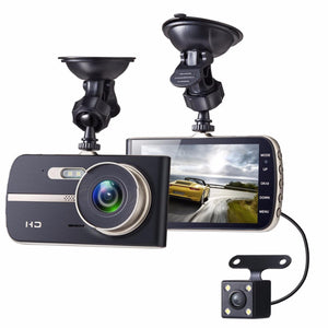 1080P HD Dual Lens Car DVR 4 Inch LCD Video Dash Cam - NeobitShop