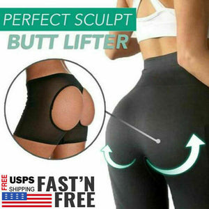 Perfect Sculpt Butt Lifter Women Booster Lift Panty Short Body Shaper Underwear