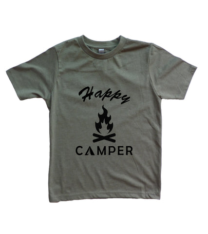 Happy Camper Youth Boy's Shirt