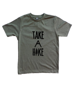 Take A Hike Youth Boy's Shirt