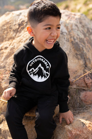 Outdoorable Black Hoodie