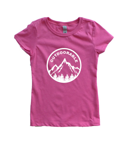 Outdoorable Girls Youth Shirt