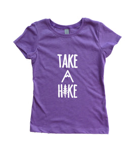 Take A Hike Girls Youth Shirt