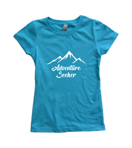 Adventure Seeker Girls Youth Shirt