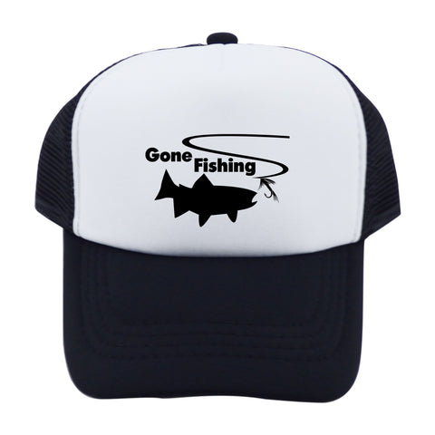 Gone Fishing Trucker