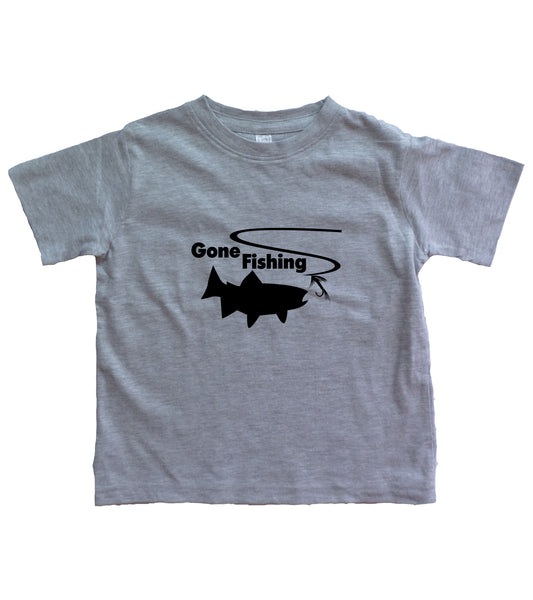 Gone Fishing Infant Shirt Wholesale