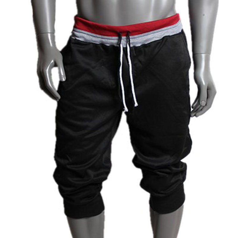 Men Sport Sweat Pants Shorts Harem Dance Baggy Jogging