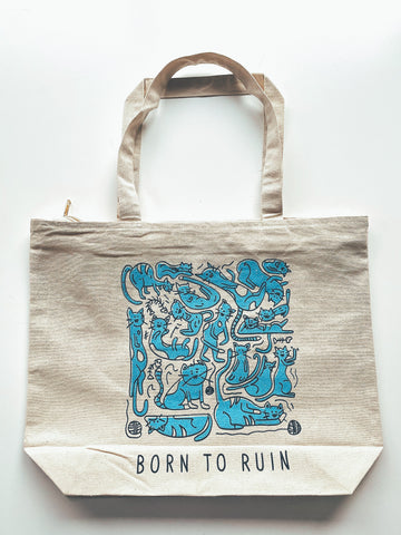 Born to Ruin Tote