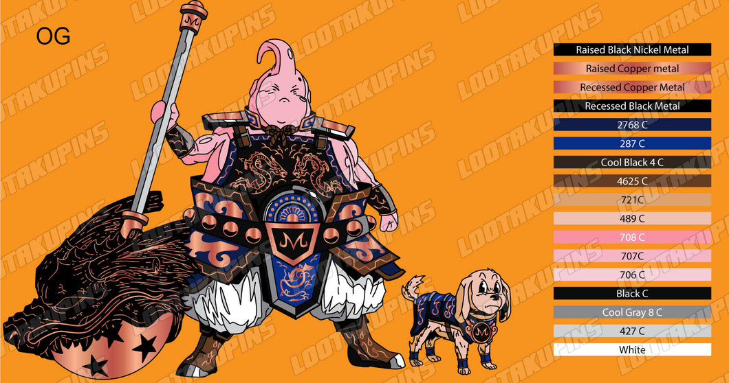 General Buu with Warrior Hound Bee