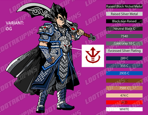 General Vegeta with Royal Saiyan Armor