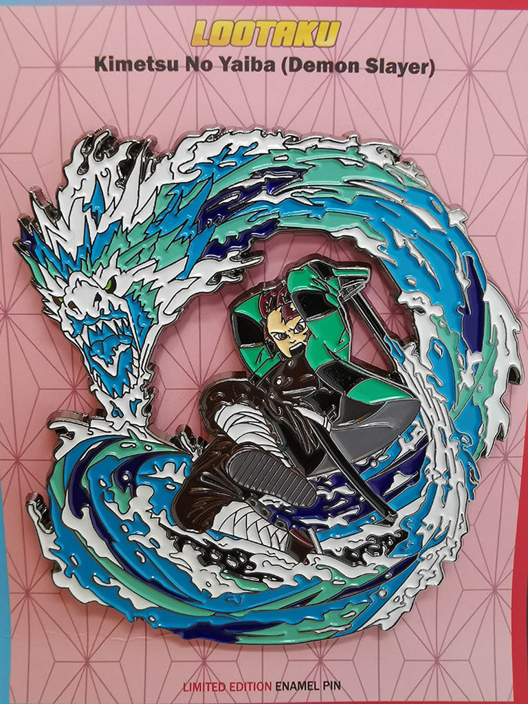 Kimetsu No Yaiba (Demon Slayer) - Tanjiro Kamado (Water Breathing / Dance of the Fire God)