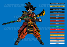 Load image into Gallery viewer, General Goku with Shenron Crescent Blade