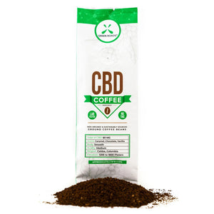 GREEN ROADS - CBD COFFEE 2OZ.