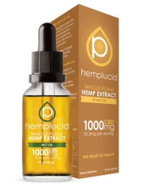 HEMPLUCID SUBLINGUAL - MCT OIL