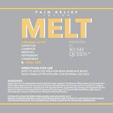 KUSH QUEEN - MELT CBD PAIN LOTION - 100MG