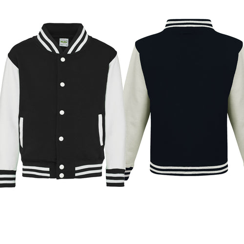 Personalised Kids Varsity Jackets