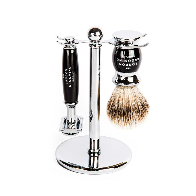 Shave Set (Chrome)