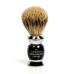 Genuine Shave Brush (Chrome)