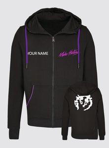 PDXCON 2019 Zip Up Hoodie With Name Print