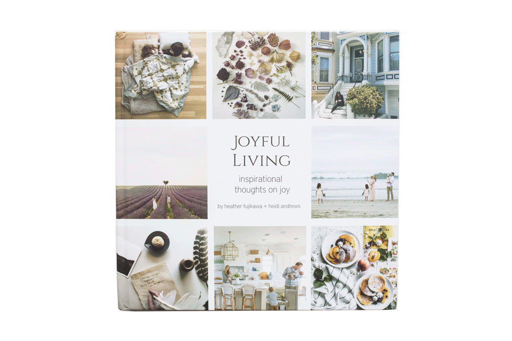 Joyful Living Book Featuring Instagram Artists