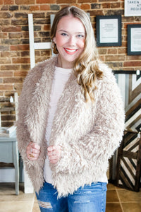 Coco faux fur jacket