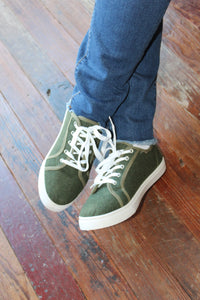 Olive Soho Sneakers