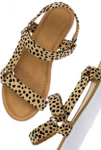Load image into Gallery viewer, Suzy Leopard sandals