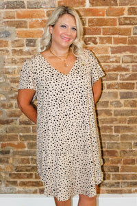 AnnaLee animal print dress