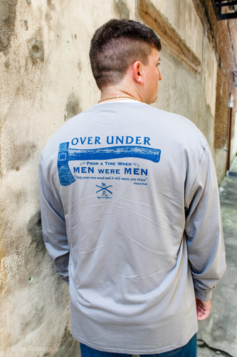 When men were men long-sleeve tee