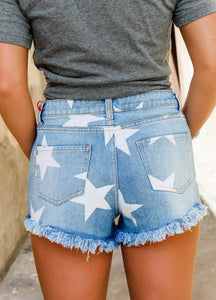 Star-lite denim shirts